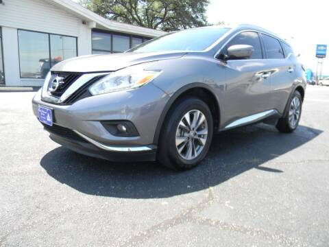 2017 Nissan Murano for sale at MARK HOLCOMB  GROUP PRE-OWNED in Waco TX