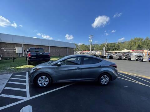 2016 Hyundai Elantra for sale at Moke America of Virginia Beach in Virginia Beach VA