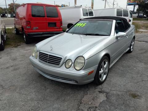 2003 Mercedes-Benz CLK for sale at Autos by Tom in Largo FL