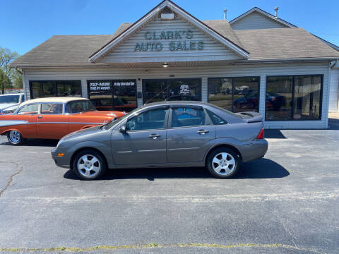 2006 Ford Focus for sale at Clarks Auto Sales in Middletown OH