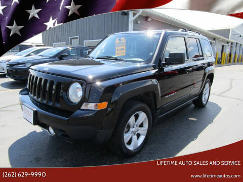 2015 Jeep Patriot for sale at Lifetime Auto Sales and Service in West Bend WI