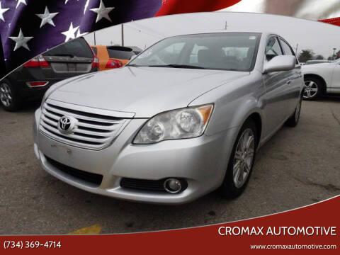 2010 Toyota Avalon for sale at Cromax Automotive in Ann Arbor MI