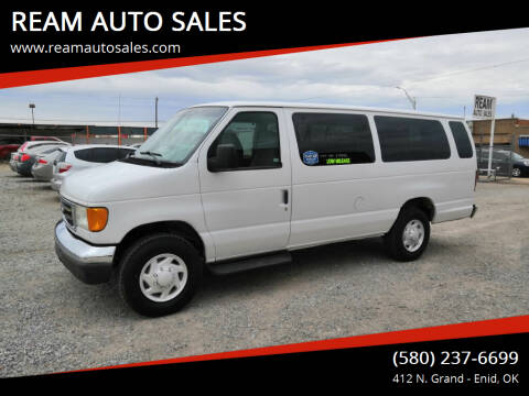 2006 Ford E-Series Wagon for sale at REAM AUTO SALES in Enid OK