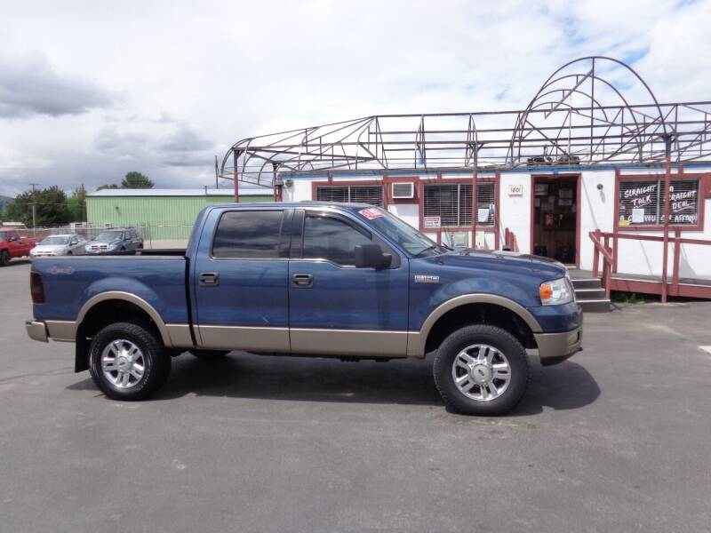 2004 Ford F-150 for sale at Jim's Cars by Priced-Rite Auto Sales in Missoula MT