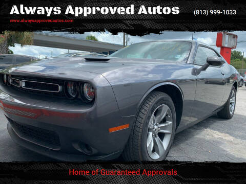 2015 Dodge Challenger for sale at Always Approved Autos in Tampa FL