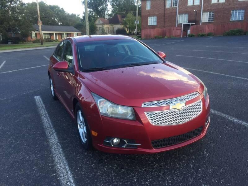 2011 Chevrolet Cruze for sale at DEALS ON WHEELS in Moulton AL