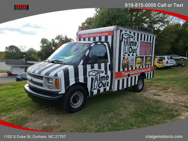 1997 Chevrolet Express Cutaway for sale at CRAIGE MOTOR CO in Durham NC