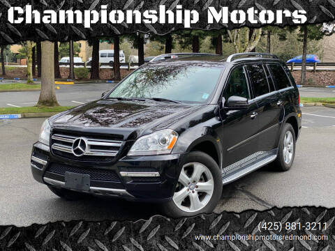2012 Mercedes-Benz GL-Class for sale at Championship Motors in Redmond WA