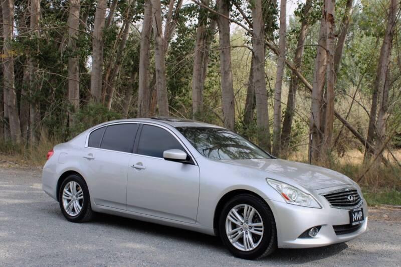 2011 Infiniti G37 Sedan for sale at Northwest Premier Auto Sales in West Richland WA