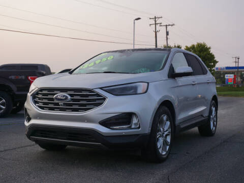2019 Ford Edge for sale at FOWLERVILLE FORD in Fowlerville MI