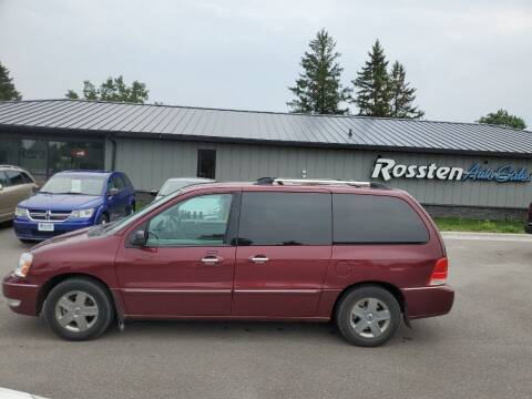 2006 Ford Freestar for sale at ROSSTEN AUTO SALES in Grand Forks ND