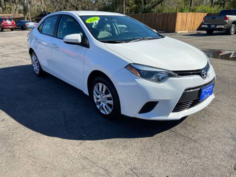 2016 Toyota Corolla for sale at QUALITY PREOWNED AUTO in Houston TX