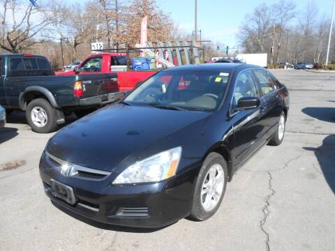 2007 Honda Accord for sale at N H AUTO WHOLESALERS in Roslindale MA
