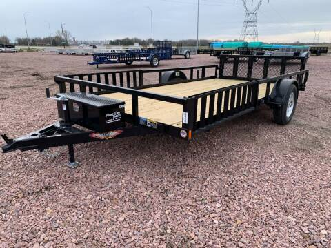 2021 H&H RS Steel 82x14 ATV #9699 for sale at Prairie Wind Trailers, LLC in Harrisburg SD