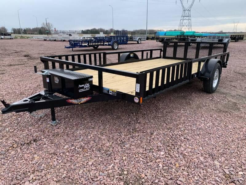 2021 H&H RS Steel 82x14 ATV #9699 for sale at Prairie Wind Trailers, LLC in Harrisburg SD