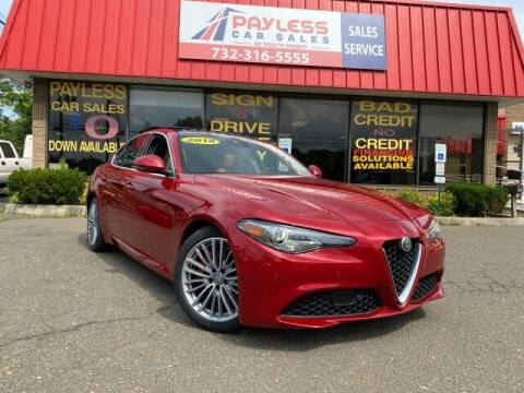 2018 Alfa Romeo Giulia for sale at PAYLESS CAR SALES of South Amboy in South Amboy NJ