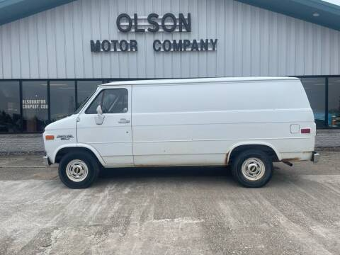 1986 Chevrolet Chevy Van for sale at Olson Motor Company in Morris MN