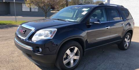 2012 GMC Acadia for sale at Diana Rico LLC in Dalton GA