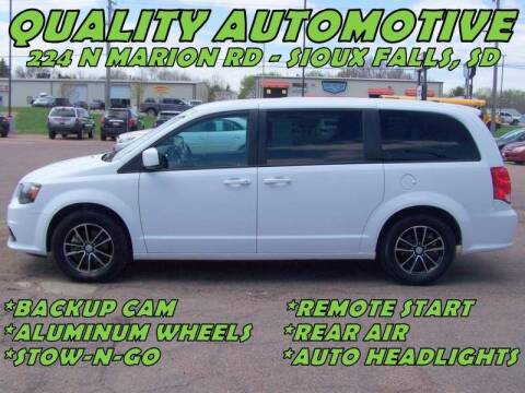 2018 Dodge Grand Caravan for sale at Quality Automotive in Sioux Falls SD