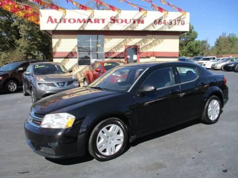 2012 Dodge Avenger for sale at Automart South in Alabaster AL
