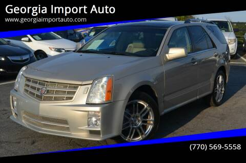 2008 Cadillac SRX for sale at Georgia Import Auto in Alpharetta GA