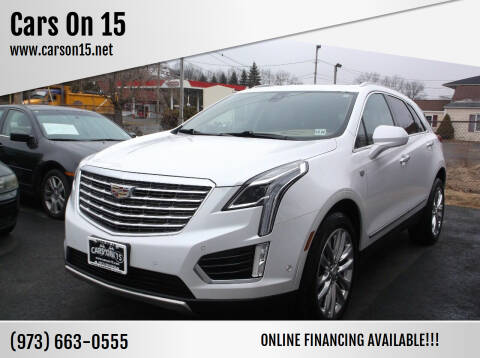 2017 Cadillac XT5 for sale at Cars On 15 in Lake Hopatcong NJ