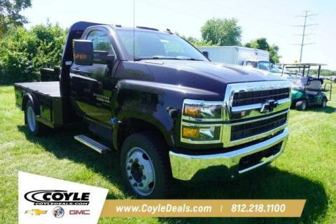 2020 Chevrolet Silverado 4500HD for sale at COYLE GM - COYLE NISSAN - New Inventory in Clarksville IN