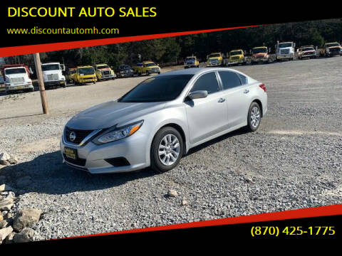 2017 Nissan Altima for sale at DISCOUNT AUTO SALES in Mountain Home AR