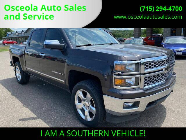 2014 Chevrolet Silverado 1500 for sale at Osceola Auto Sales and Service in Osceola WI