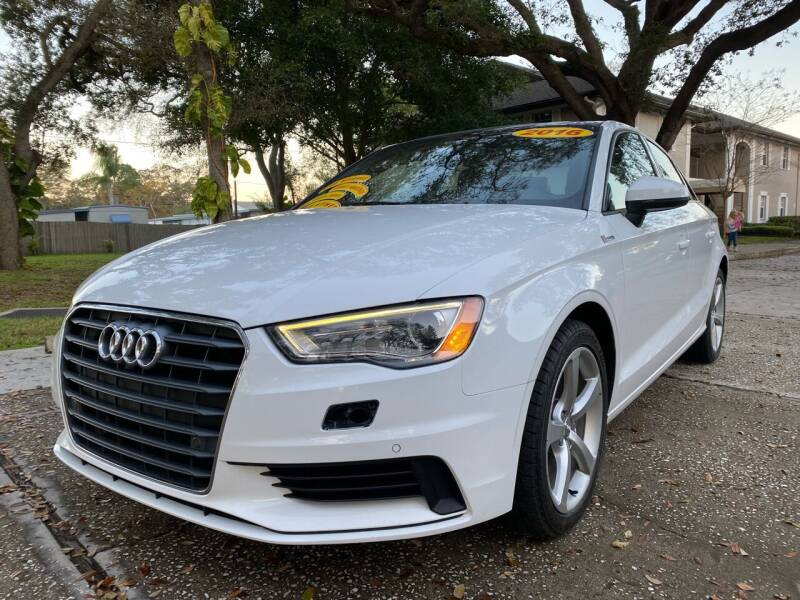 2016 Audi A3 for sale at RoMicco Cars and Trucks in Tampa FL