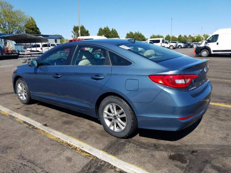 2017 Hyundai Sonata for sale at Chubbuck Motor Co in Ordway CO