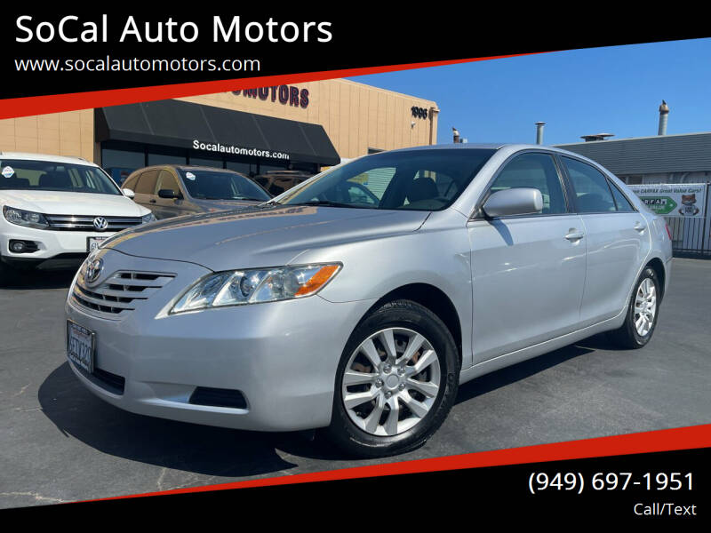 2009 Toyota Camry for sale at SoCal Auto Motors in Costa Mesa CA