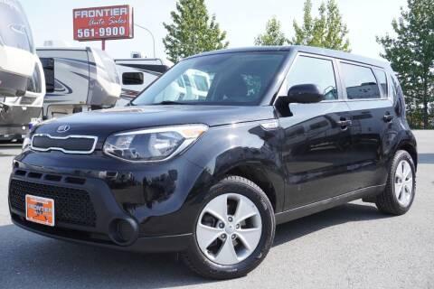 2016 Kia Soul for sale at Frontier Auto & RV Sales in Anchorage AK