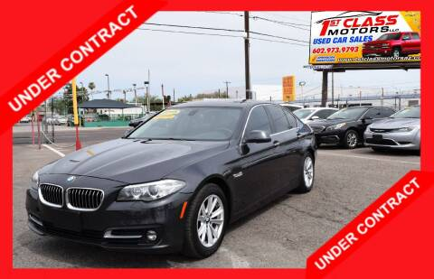 2015 BMW 5 Series for sale at 1st Class Motors in Phoenix AZ