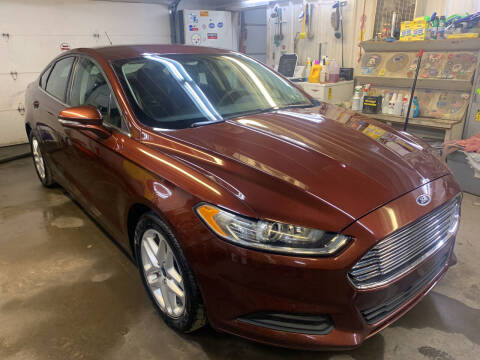 2016 Ford Fusion for sale at BURNWORTH AUTO INC in Windber PA