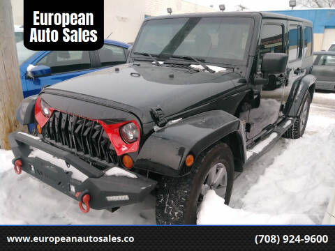 2007 Jeep Wrangler Unlimited for sale at European Auto Sales in Bridgeview IL