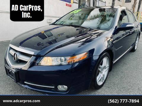2008 Acura TL for sale at AD CarPros, Inc. in Whittier CA