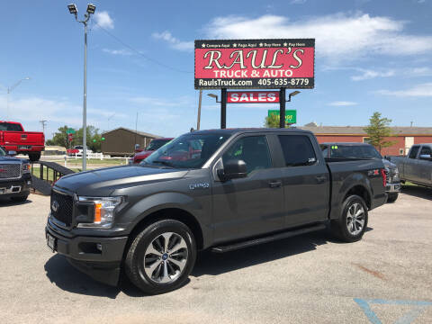 2020 Ford F-150 for sale at RAUL'S TRUCK & AUTO SALES, INC in Oklahoma City OK