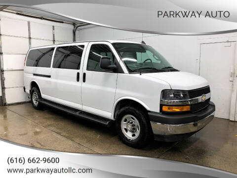2019 Chevrolet Express Passenger for sale at PARKWAY AUTO in Hudsonville MI