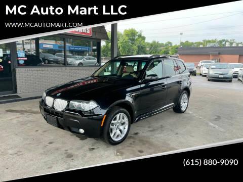 2007 BMW X3 for sale at MC Auto Mart LLC in Hermitage TN