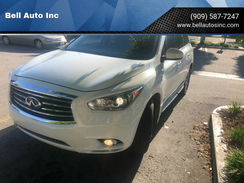 2015 Infiniti QX60 for sale at Bell Auto Inc in Long Beach CA