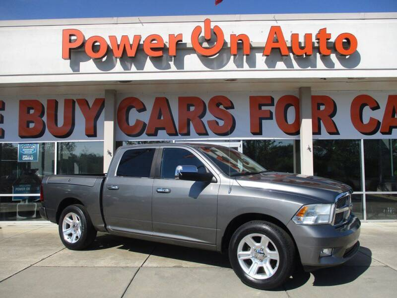 2012 RAM Ram Pickup 1500 for sale at Power On Auto LLC in Monroe NC
