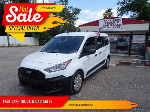 2019 Ford Transit Connect Wagon for sale at EAST LAKE TRUCK & CAR SALES in Holiday FL