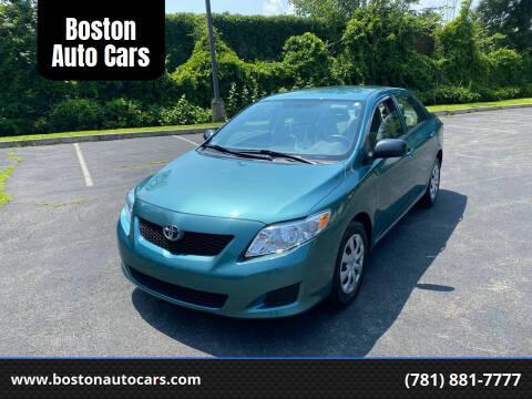 2009 Toyota Corolla for sale at Boston Auto Cars in Dedham MA