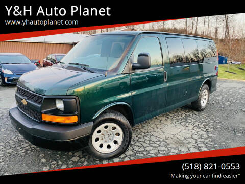 2012 Chevrolet Express Passenger for sale at Y&H Auto Planet in West Sand Lake NY
