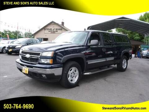 2007 Chevrolet Silverado 1500 Classic for sale at Steve & Sons Auto Sales in Happy Valley OR