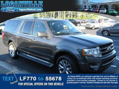 2017 Ford Expedition EL for sale at Loganville Ford in Loganville GA