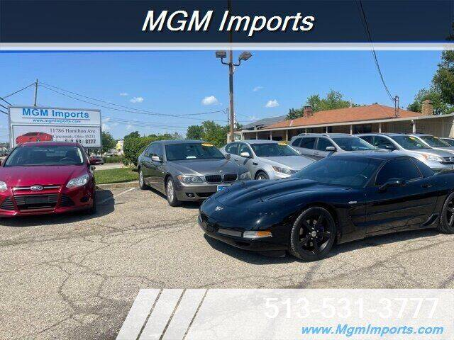 2003 Chevrolet Corvette for sale at MGM Imports in Cincinnati OH