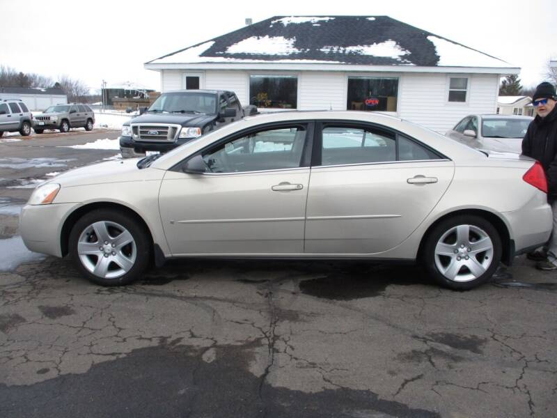 2009 Pontiac G6 for sale at KAISER AUTO SALES in Spencer WI