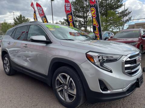 2019 GMC Terrain for sale at Duke City Auto LLC in Gallup NM